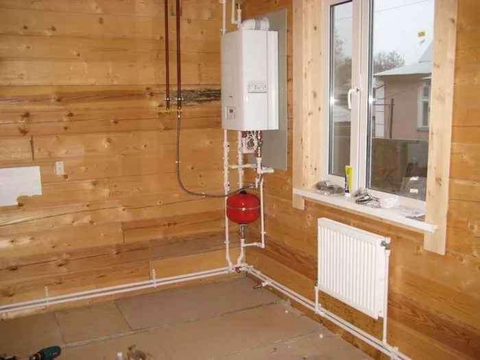 Как в частном доме сделать газовое отопление в частном доме своими руками 61
