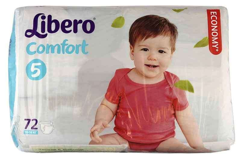 Подгузники libero comfort maxi