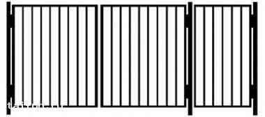 Ворота с калиткой в костроме откатные ворота цена прайс
