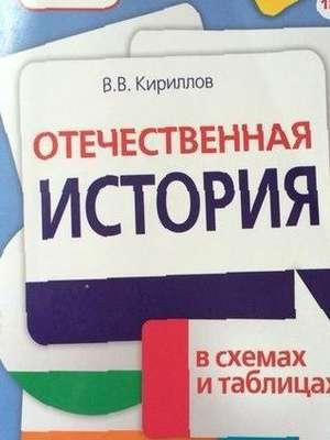 Отечественная история в схемах и таблицах кириллов doc