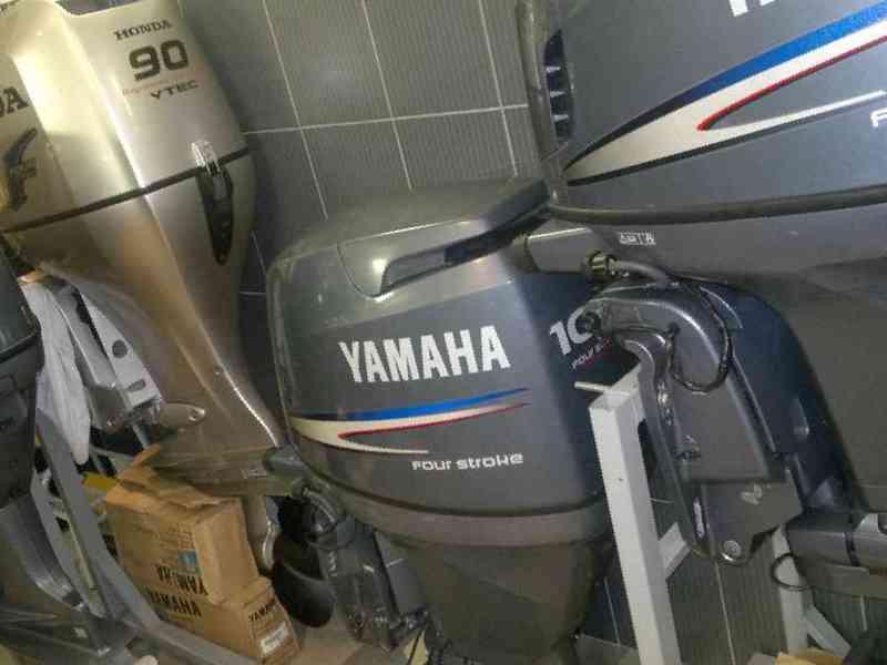 лодочные моторы ямаха или тохатсу что выбрать