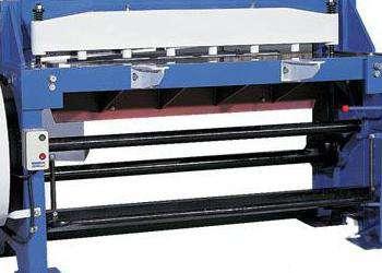 Ножницы гильотинные механические по металлу stalex q11-4x1300nc