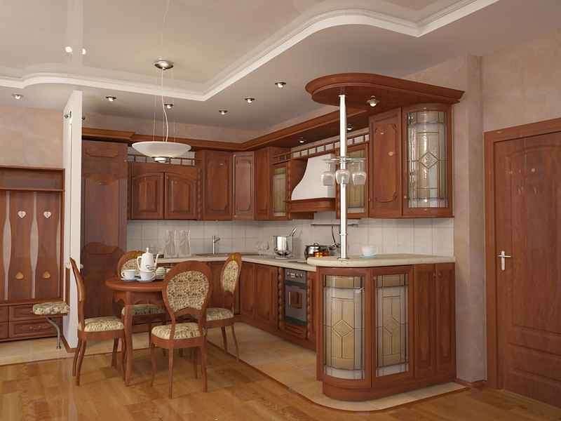 Ремонт дома дизайн кухни