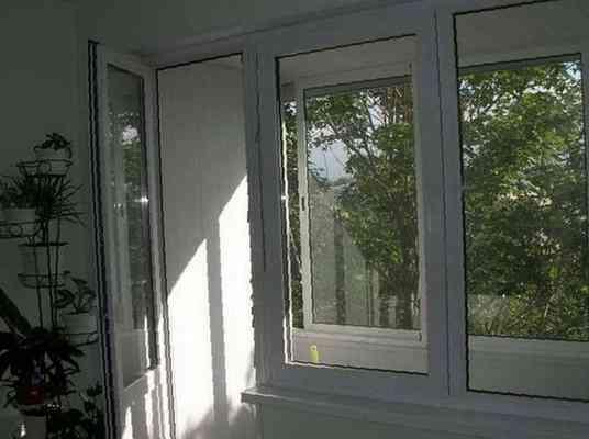 Балконная дверь, цена 8500 руб. - окна и балконы в благовеще.