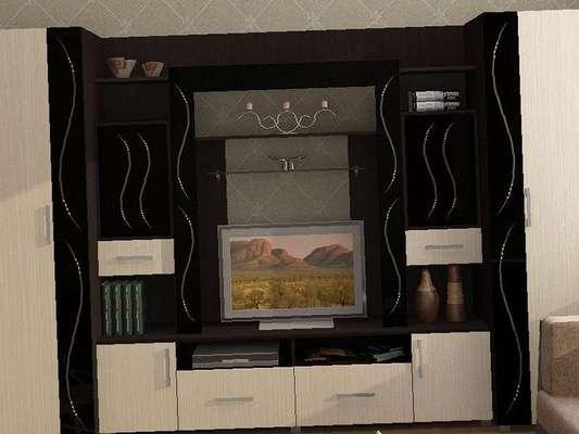 Комплект мебели для гостиной мебели со стекломкари