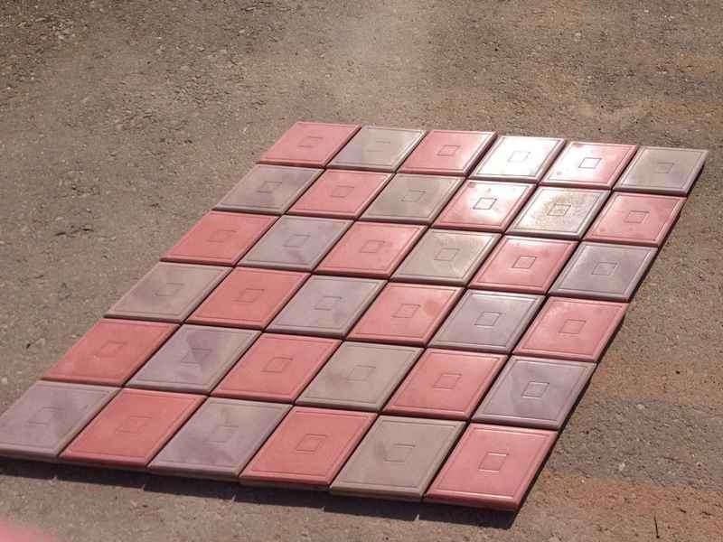 Тротуарная плитка без формы