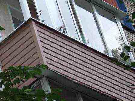 Балконы пвх, цена 5500 руб. - окна и балконы в брянске.
