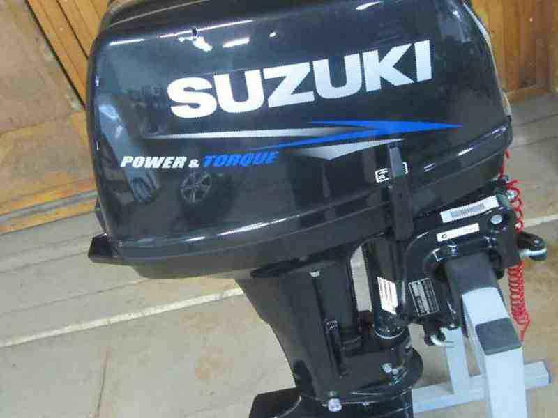 купить лодочный мотор сузуки 4х тактный 2.5 цена в спб