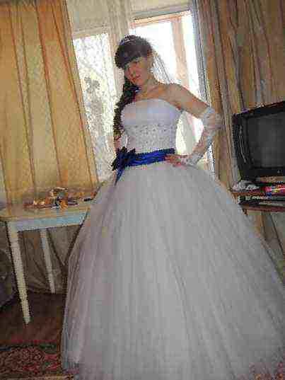 Свадебные платья бу цены