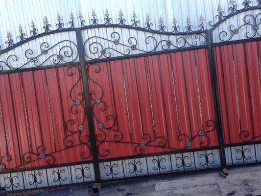 Ворота модель где купить или заказать ворота