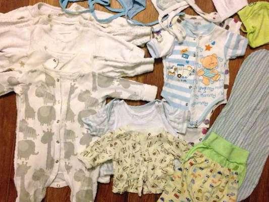 Одежда Для Новорождённых Бу