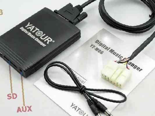 Usb адаптер для штатной магнитолы своими руками