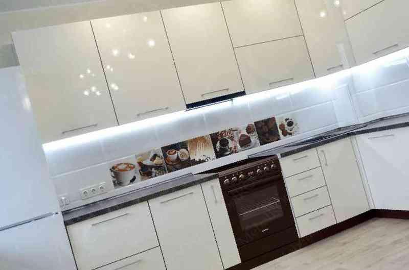 Кухонные гарнитуры акриловые фасады на кухни мария купить