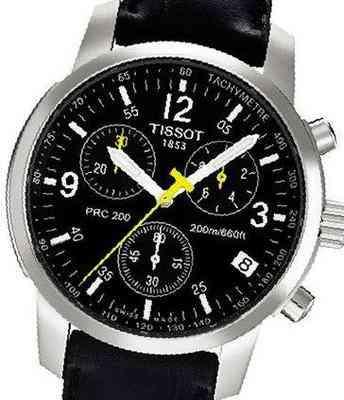 Копия часов Tissot PRC 200 Chronograph 01241