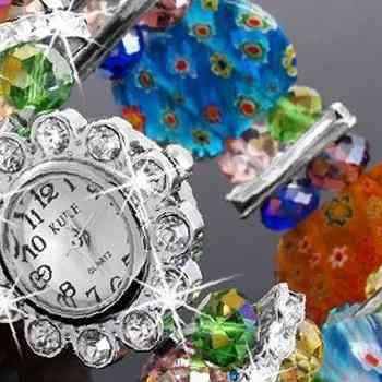 Часы наручные женские муранское стекло