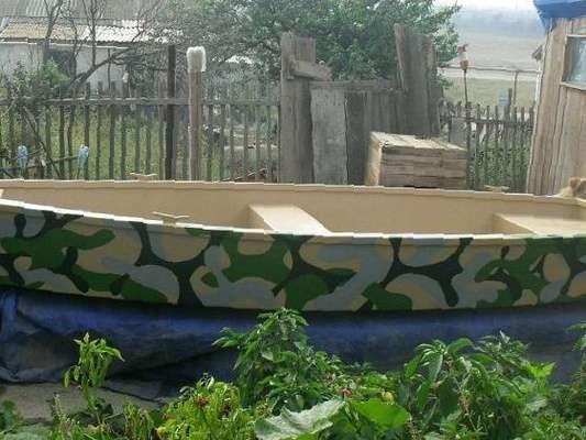 лодка из стеклопластика покрытие